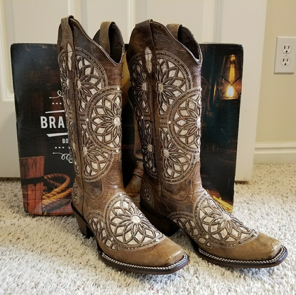hot-seeling original convenience goods size 7 Mexican Cowgirl Boots
